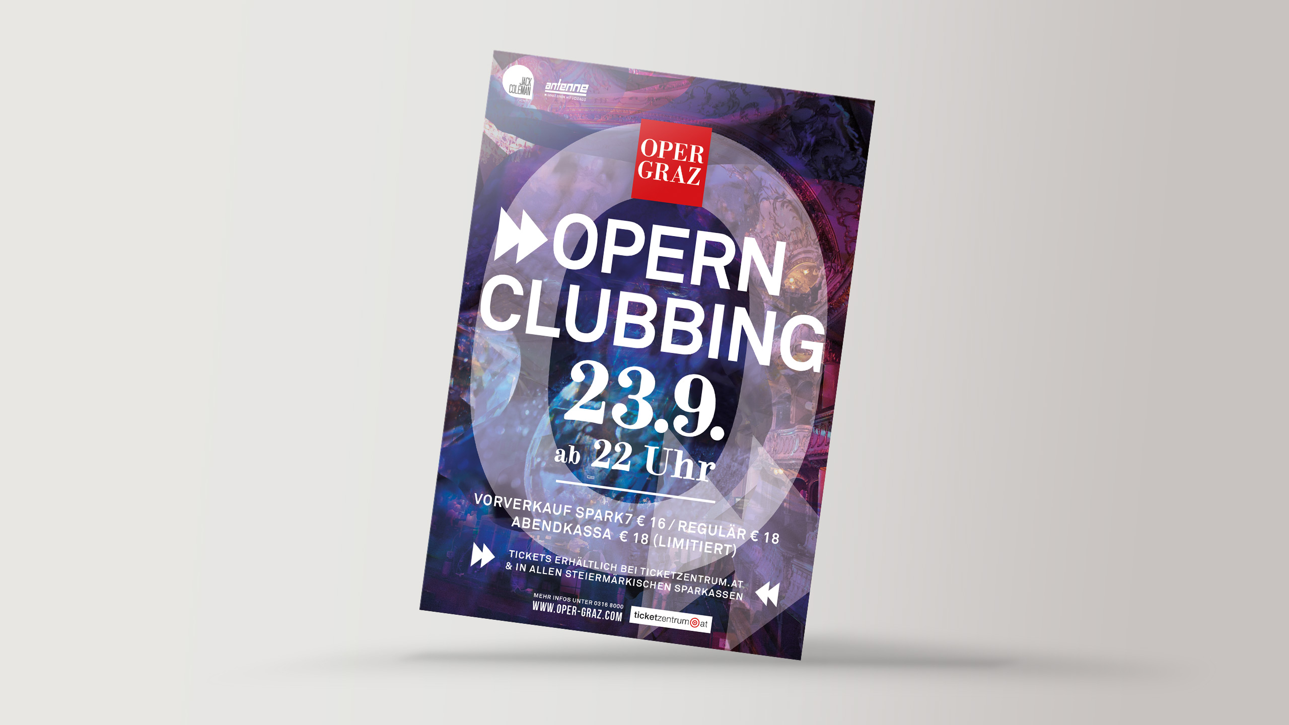Opernclubbing-Event-Flyer