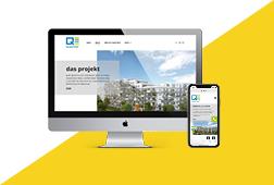 Quartier 4 Website