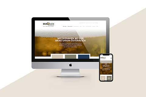 Brau Union Österreich Website