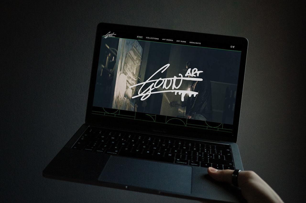 ART GUNN Website