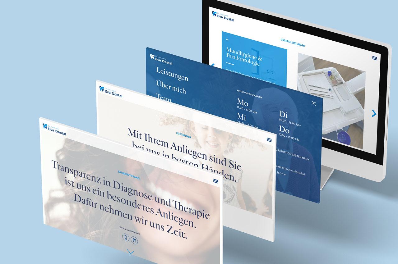 Zahnäztin Dr. Dostal Website