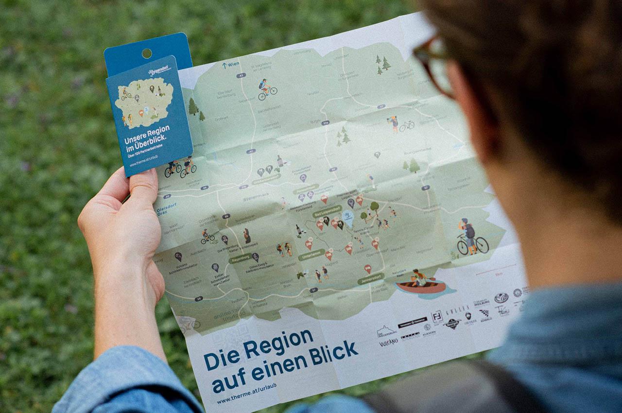 Loipersdorf Karte